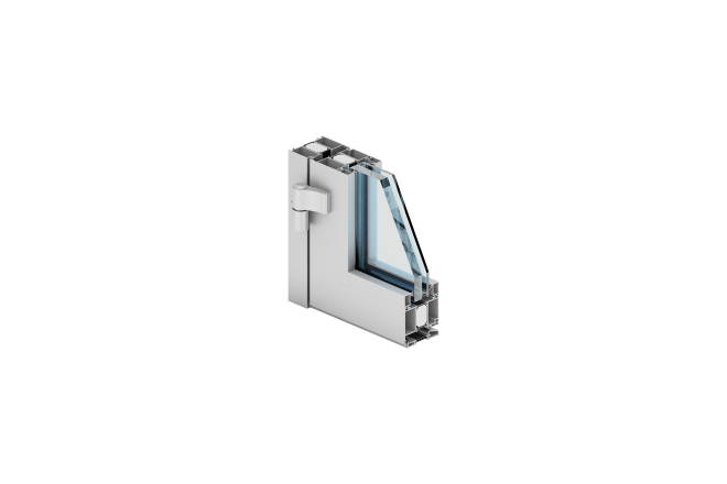 Aluminium systems for windows, doors, sliding doors, facades walls
