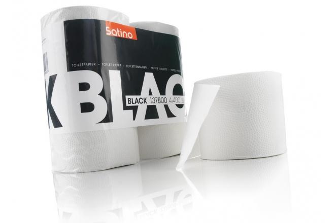 BlackSatino toilet paper