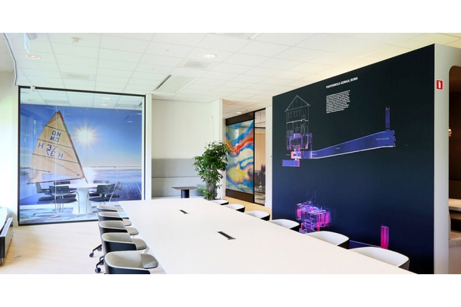 Cradle to Cradle ceiling plates in new office Zuiderzeeland